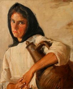 Gypsy Girl by Augustus John