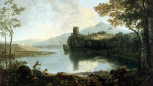 Dolbadarn Castle by Richard Wilson